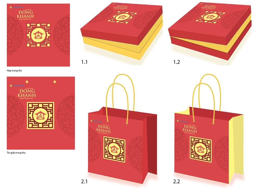 Hộp quà tặng, túi xách giấy